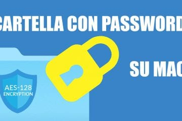 cartella con password macos