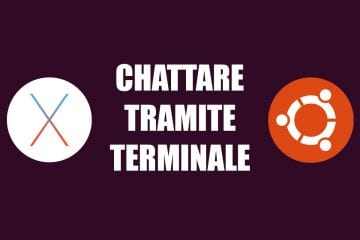 chat tramite terminale