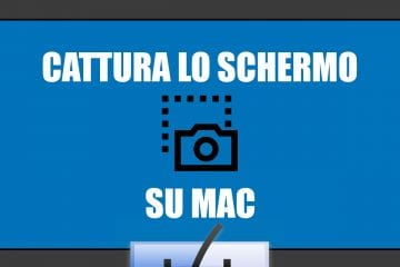 screenshot sul mac