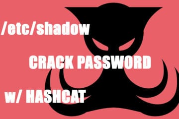 etcshadowcrackpassword